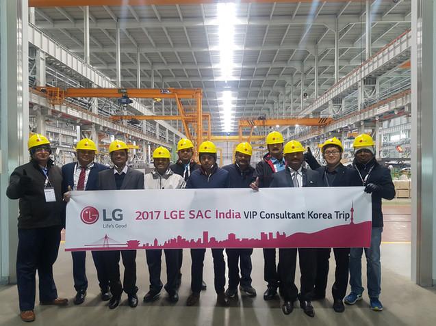 2017 LG India VIP Tour