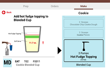 Recipe and Order Tracking Software