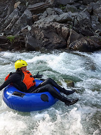 White Water Tubing in the Columbia Valley Kootenays