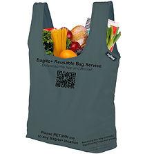 Bagito+ Reusable Shopping Bag - Mock-up.