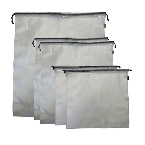 Bagito Resuable Can Liners Set of 5 -  Made from 100% PEVA