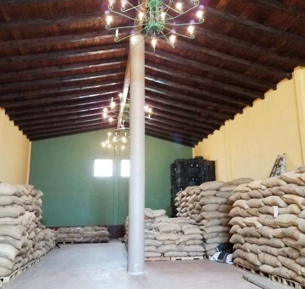 Warehouse of Coffee