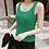 Thumbnail: Cotton Sleeveless Knit Top