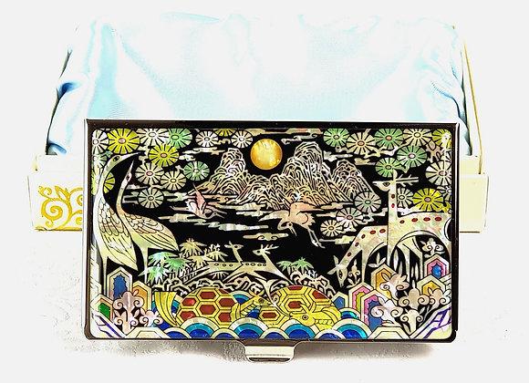 Anti-Scan Credit Card Holder Wallet with SibJangsaeng Design1