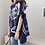 Thumbnail: Trendy Pattern Cape Style Tunic Top