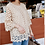 Thumbnail: Ring Pattern French Lace Tunic Top