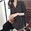 Thumbnail: Vivian A-Line China Collar V-Neck Top