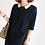 Thumbnail: CoCo Red Button Tunic Dress