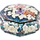 Thumbnail: Mother of Pearl Octagonal Trinket Jewellery box with Peony Blossoms