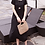 Thumbnail: Slim-Fit Pleated Mid-Calf Dress