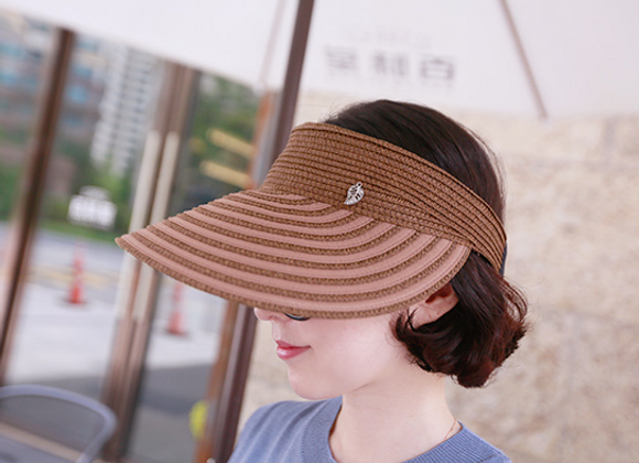 Stylish UV Protection Wide Sun Cap