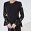Thumbnail: Kara Flower Pattern Frilled Dress