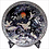 Thumbnail: Mother of Pearl Decorative Dish with Objects of Cranes and Pine Tree