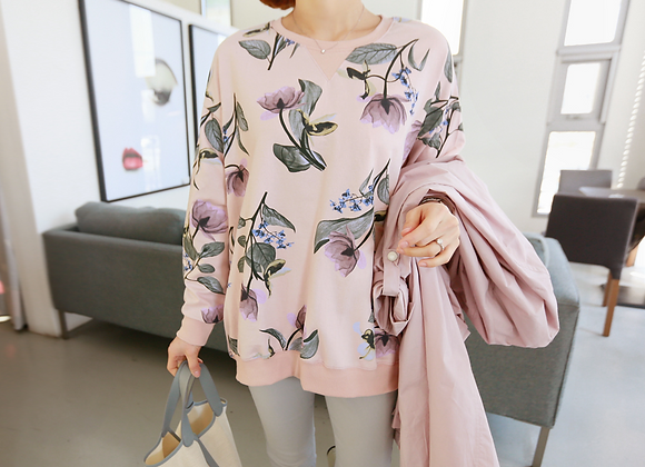 Light Floral Jumper