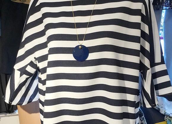 Ball Pendant Point Acrylic Circle Necklace