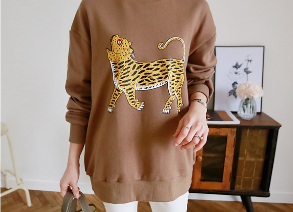Rubina Tiger Print T-Shirt