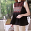 Thumbnail: Embroidered A-Line Pleated Sleeveless Top