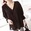 Thumbnail: Sweet Style Shirring V-Neck Blouse
