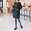 Thumbnail: Chic H-Line Padding Tunic Dress