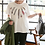 Thumbnail: Feather Embroidered Half Sleeve T-Shirt