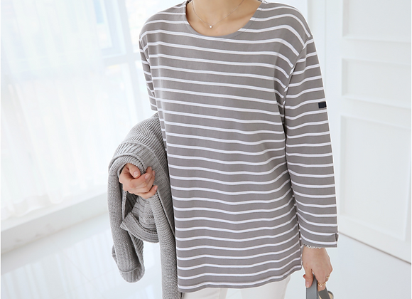 Cos Stripe T-Shirt