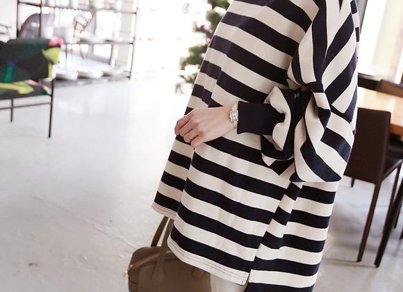 Stylish Stripe Cotton Jumper