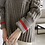 Thumbnail: Loose Fit High-Neck Knit Jumper