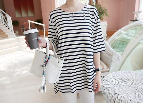 Natural Mode Stripe T-Shirt