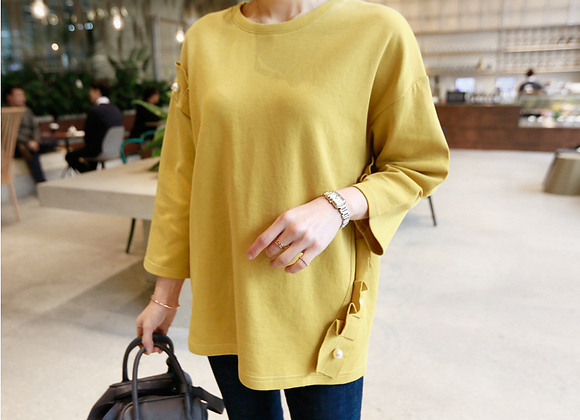 Frilled Pearl Jumper