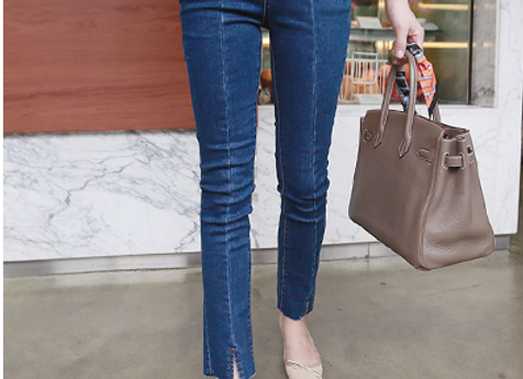 Swan Boot-Cut Denim Jean