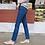 Thumbnail: Swan Boot-Cut Denim Jean