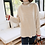 Thumbnail: Loose Fit High-Neck Knit Jumper
