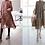 Thumbnail: Stylish Pleats Dress with(without) Vest