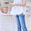Thumbnail: Chiffon Ruffled Organic Cotton Sleeveless Top