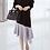 Thumbnail: Oblique Frilled Hemline Tunic Dress
