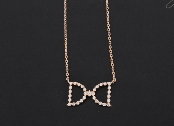 Double-D Silver Necklace