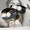 Thumbnail: Pearl & Cubic Zirconia Leather Bracelet