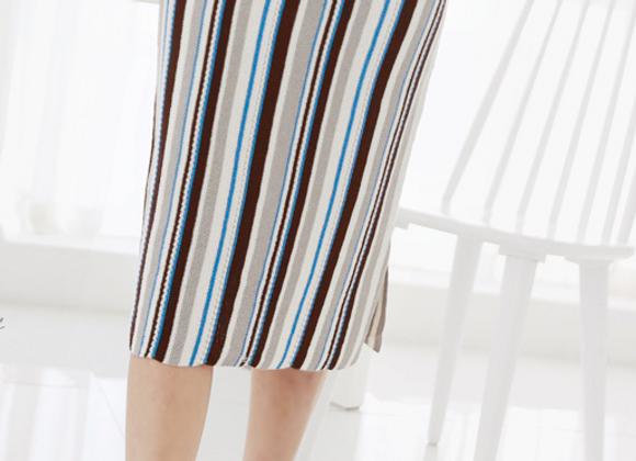 Missoni Style Knit Skirt