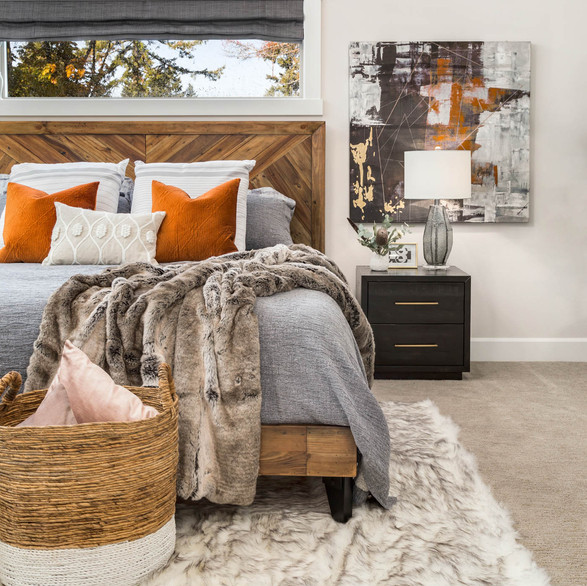 Cozy Master Bedroom Styling