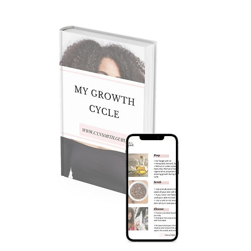 My Growth Cycle! Your 89 page hair journal!