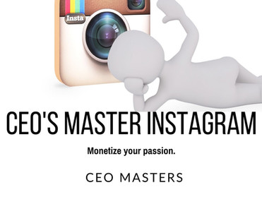 CEO's Master Instagram NEW LESSON LIVE!