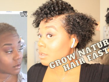 My new growth update!! LENGTH CHECK!