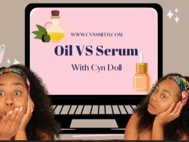 Oils VS Serums