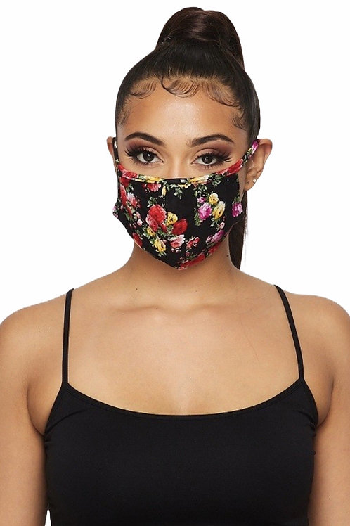Double Layered Filter Face Mask