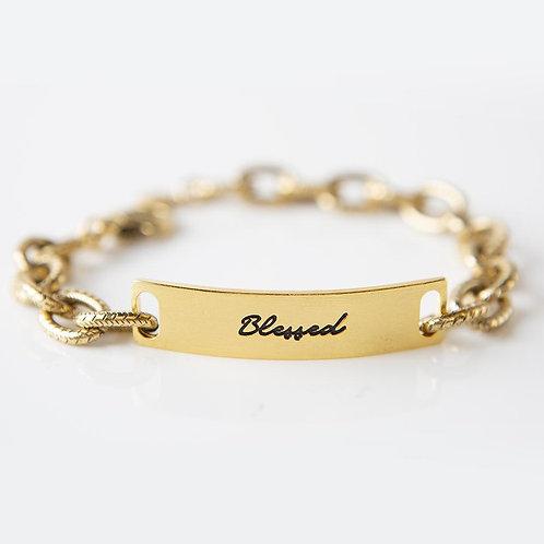 Blessed Link Bracelet