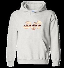 difi rose gold hoodie