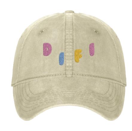 difi brain badge colorway hat