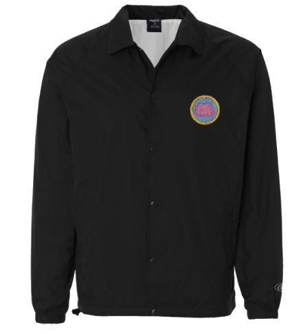 brain badge coach jacket