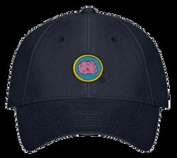 brain badge hat