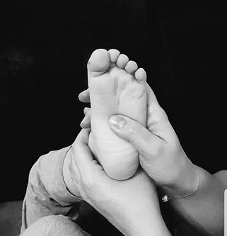 reflexotherapie pediatrique massage bébé Montélimar